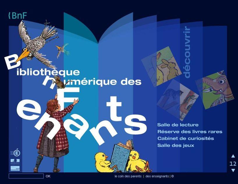 La BNF Numérique des enfants