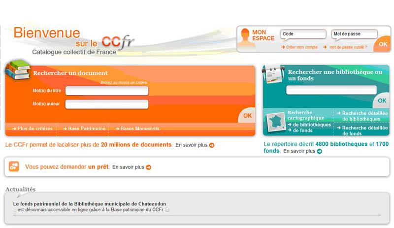 Catalogue numérique de France