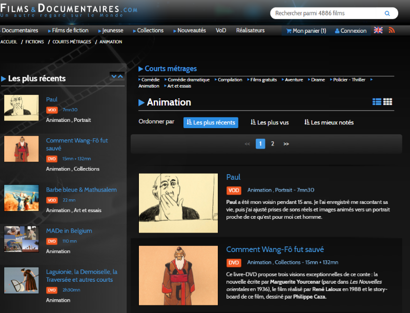 Films & documentaires