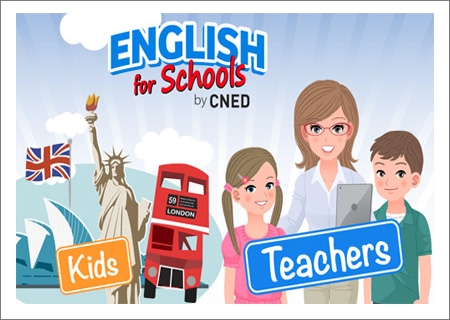 English for Schools : Plateforme créée par le CNED !